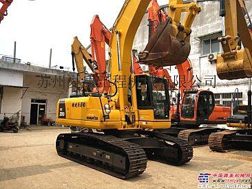 出售二手小松PC200-8挖掘机9成新进口20吨中型二手挖土机