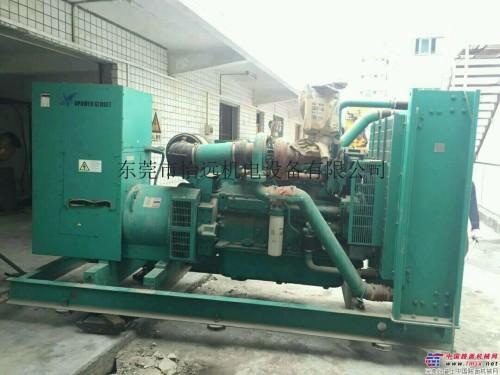 销售400kw二手柴油发电机组康明斯电喷机型