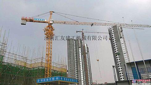 遵义汇友QTZ5612塔吊钢材Q345B屈服强度大购机减万元