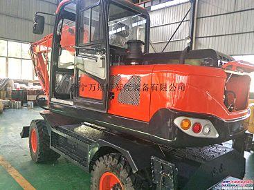 90型轮式挖掘机 市政工程建设用 挖掘机 钩机