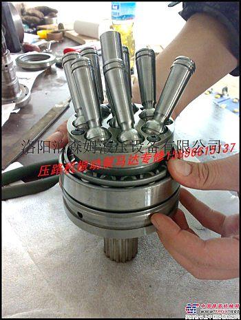 厦工压路机维修 泊森姆压路机振动泵马达专业维修效验15896615137 2000小时保修
