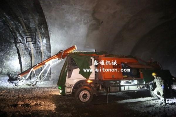 隧道濕噴機械手CSP-30來自江西鑫通