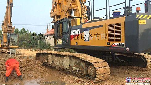 湖北荆州出租徐工360旋挖钻机,老品牌,好品质