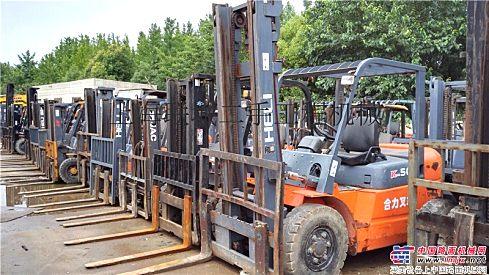 出售二手合力,杭州3吨5吨10吨二手叉车