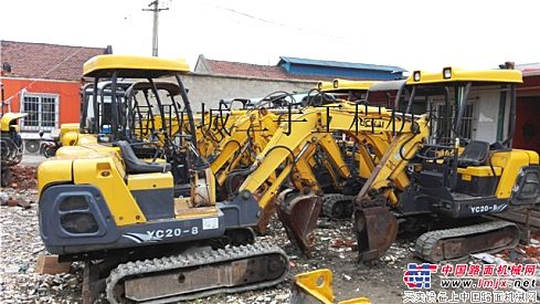 出售二手玉柴18-8小型挖掘机/二手玉柴15小型挖掘机