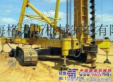 供应KLL系列CFG长螺旋钻机26和28米长螺旋钻机长螺旋钻孔机