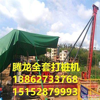 供应南通腾龙CK1800冲击钻打桩机图片