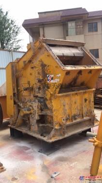 出售贵州二手中天破碎机械制砂机低价处理