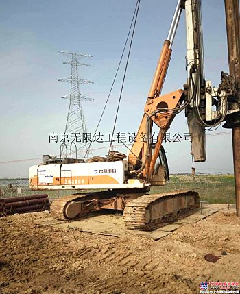 湖南益阳出租中联280旋挖钻机,施工效率高
