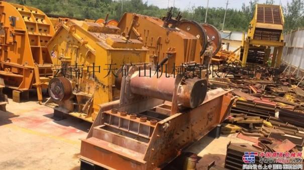 砂石料厂倒闭!!低价出售二手一套制砂设备