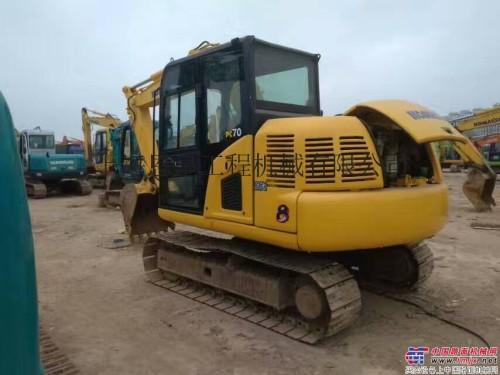 出售二手小松PC70-8挖掘机二手70小挖机原版机械性能好