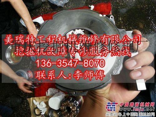 维修得荣县日立挖掘机憋车及憋车的原因