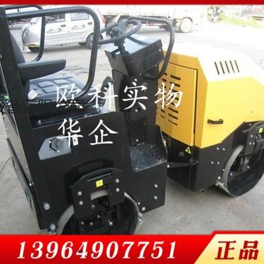 供应欧科850型震动钢轮压路机 坐人式轧道机驾驶型柴油压实机