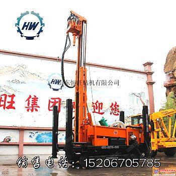 供应山东恒旺200D多功能气动水井钻机履带打井机