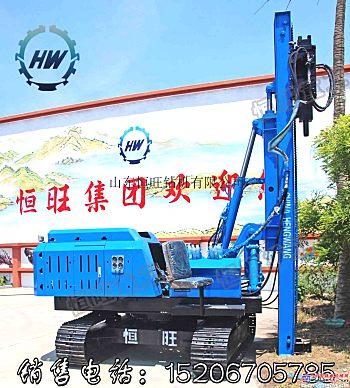 履带式行走打桩机 液压打桩机 振动锤厂家生产价格