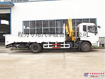 东风天锦6.3吨徐工折臂随车吊