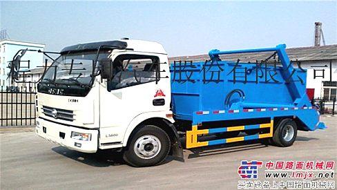 供应东风多利卡摆臂式垃圾车