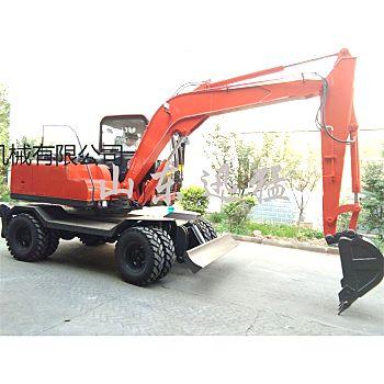 轮式挖掘机性能怎么样?SD85挖掘机专业厂家生产 专注品质