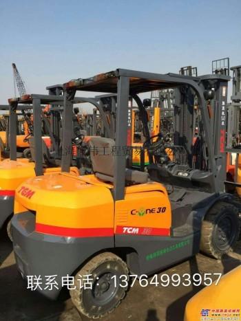 出售二手柳工3吨叉车TCM3吨4米5米3门架叉车