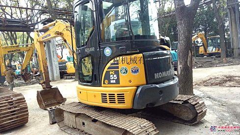 出售二手小松55MR挖掘机