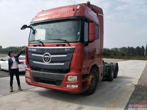 出售二手欧曼GTL半挂车 拖车 半挂牵引车