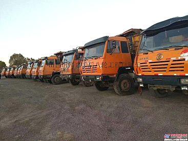 出售二手陕汽奥龙马力310和340,大箱5.6米和5.8米自卸车后八轮工程自卸车