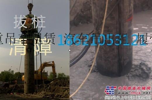 出租卡特550打桩机打拔水泥桩 钢板桩、拉森桩、H桩租赁钢板路基箱