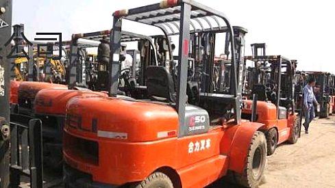 二手叉车转让,二手杭州,合力1吨-10吨燃油叉车特价