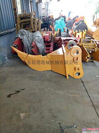 供应铭德6-50吨级挖掘机单钩松土器 多齿松土器 松土耙 交货快