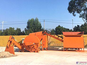 供应扫路车垃圾综合处理回收利用设备