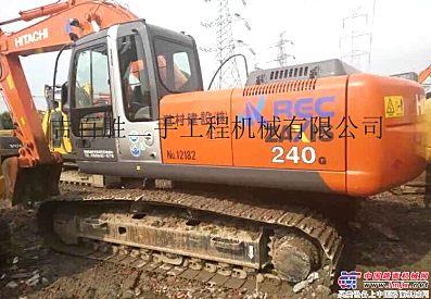 出售二手日立240-3G挖掘机