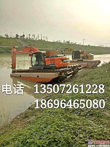 供应水上挖掘机出租水挖机租赁改装链条销售厂家