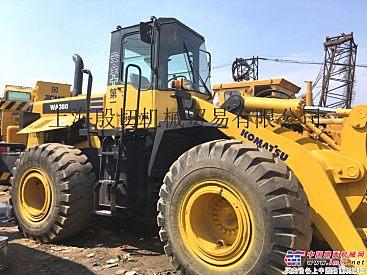 出售二手小松PC320、PC470、WA380挖掘装载机
