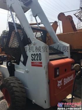 出售二手山猫FW863装载机、S220滑移装载机