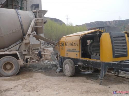 山西出租三一混凝土输送泵