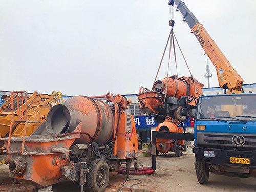 二手混凝土拖泵处理网 二手搅拌拖泵一体机 长沙二手泵车交易市场 二手搅拌拖泵