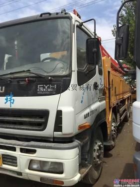 出售二手三一37-63米泵车供应及收购