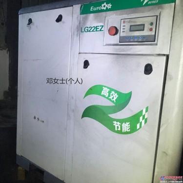 专业回收及销售各种二手空压机空气压缩机