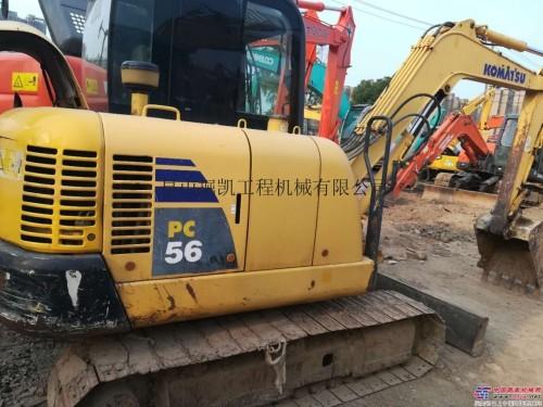 出售二手小松56挖掘机山东济南小型挖掘机