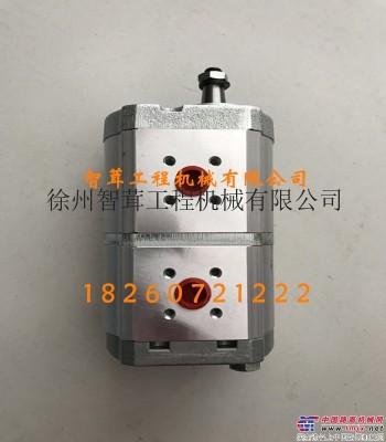 供应宝马格203AD-4压路机发动机双联泵  齿轮泵 宝马格压路机配件