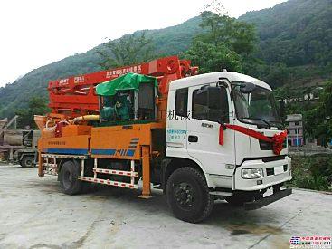 供应山东沃海重工30泵车价格30米混凝土泵车30米车载泵车 价格