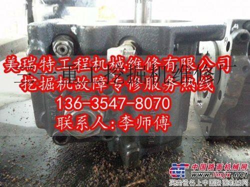甘肃省酒泉市维修三一SY75挖掘机动作有延迟是什么原因