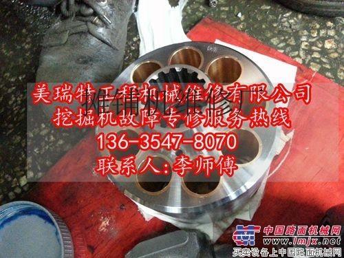 重庆合川维修小松220挖掘机全车动作无力-13635478070
