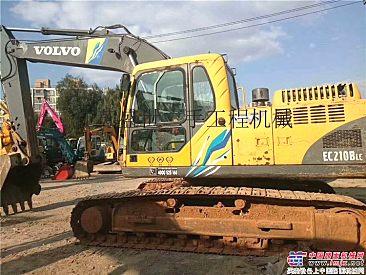 出售二手沃尔沃ec210BLC挖掘机