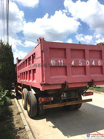 出售二手豪沃自卸车行驶56800公里12.88万出售