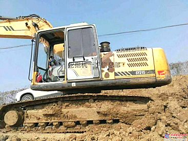 出售二手三一215挖掘机 手续齐全 货到付款 包运费