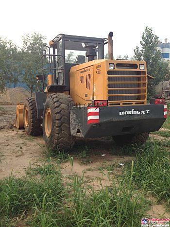 鞍山二手铲车出售龙工50装载机价格个人出售龙工装载机