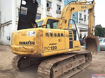 郑州二手小松120挖掘机,河南二手小松挖掘机