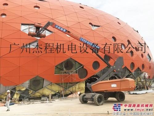 惠州博罗设备安装高空车租赁,载人28米直臂式高空作业平台租赁