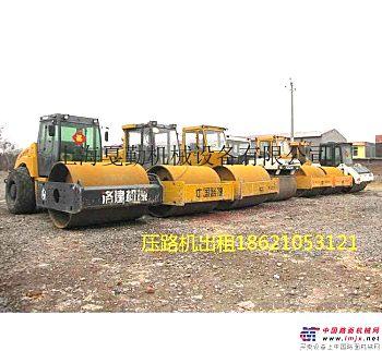出租龙工LG2200压路机上海浦卫公路压路机出租上海车墩路面钢板租赁